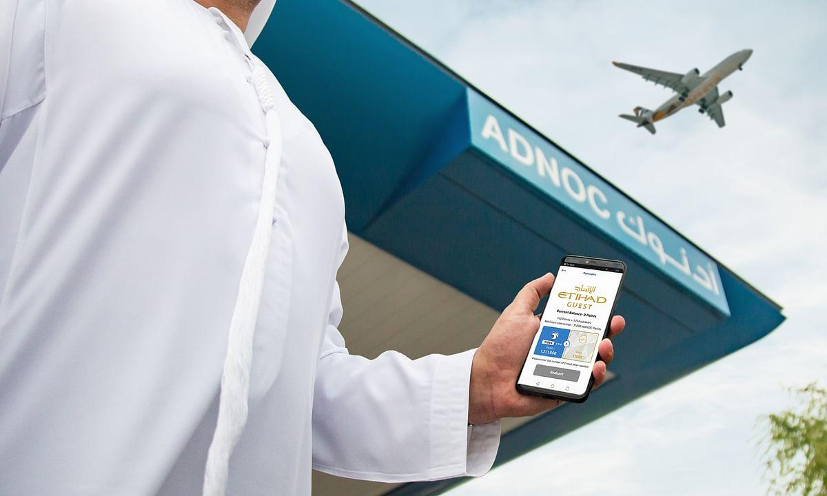 Etihad Airways and ADNOC Distribution Expand Partnership