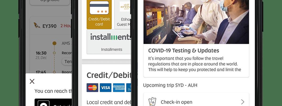 Etihad Airways Enhances Mobile App to Provide Additional Benefits