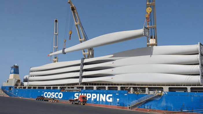 Turbines Delivered for Saudi Arabia's First Wind Farm Project