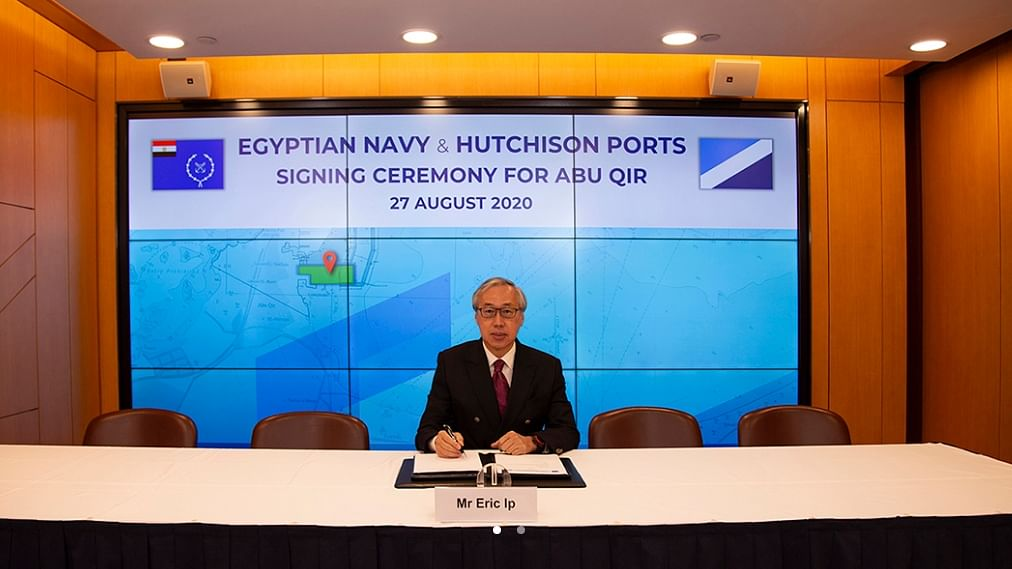 Hutchison Ports to Set Up New Container Terminal with Egyptian Navy