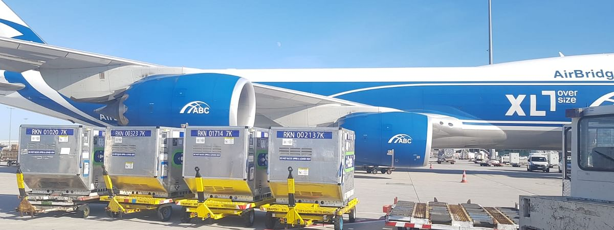 AirBridgeCargo Tests its Preparedness to Transport Covid-19 Vaccines