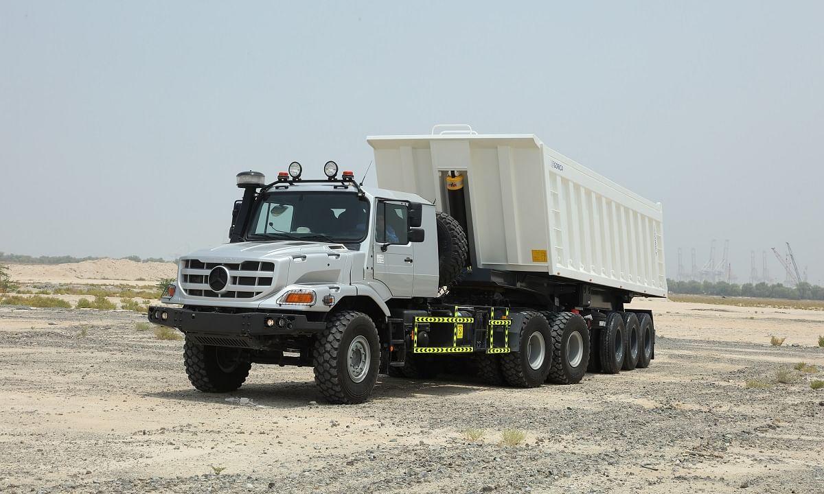 Mercedes-Benz Launches New Generation of Heavy-Duty Zetros Trucks