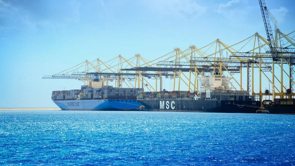 King Abdullah Port at Heart of 2 New East-West Shipping Routes