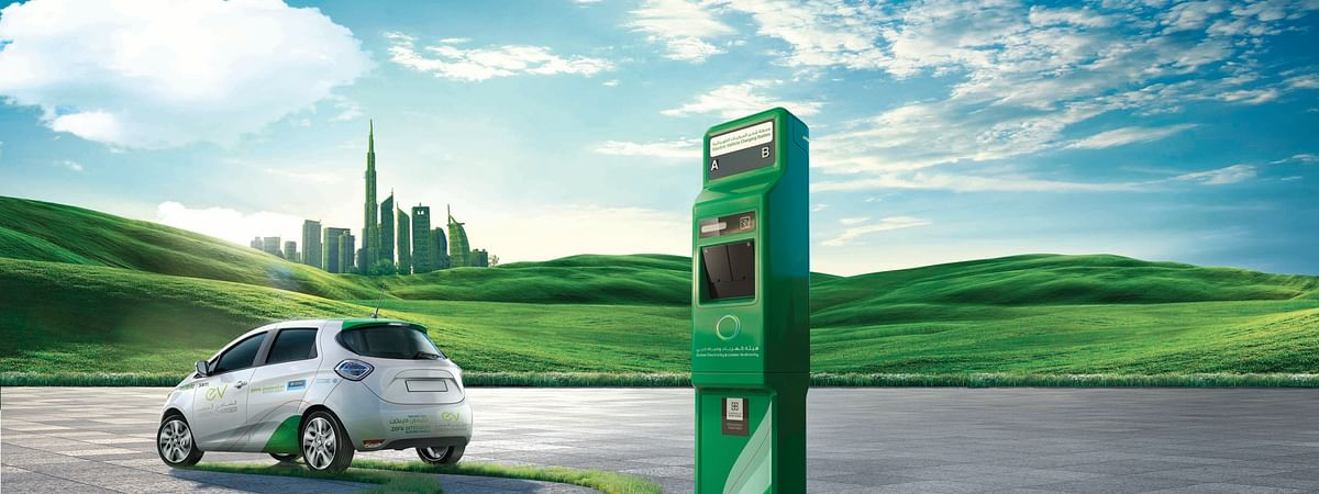 DEWA Launches Blockchain based EV Charging Services