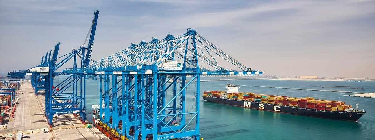 Abu Dhabi Ports' Khalifa Port Expansion Remains on Track