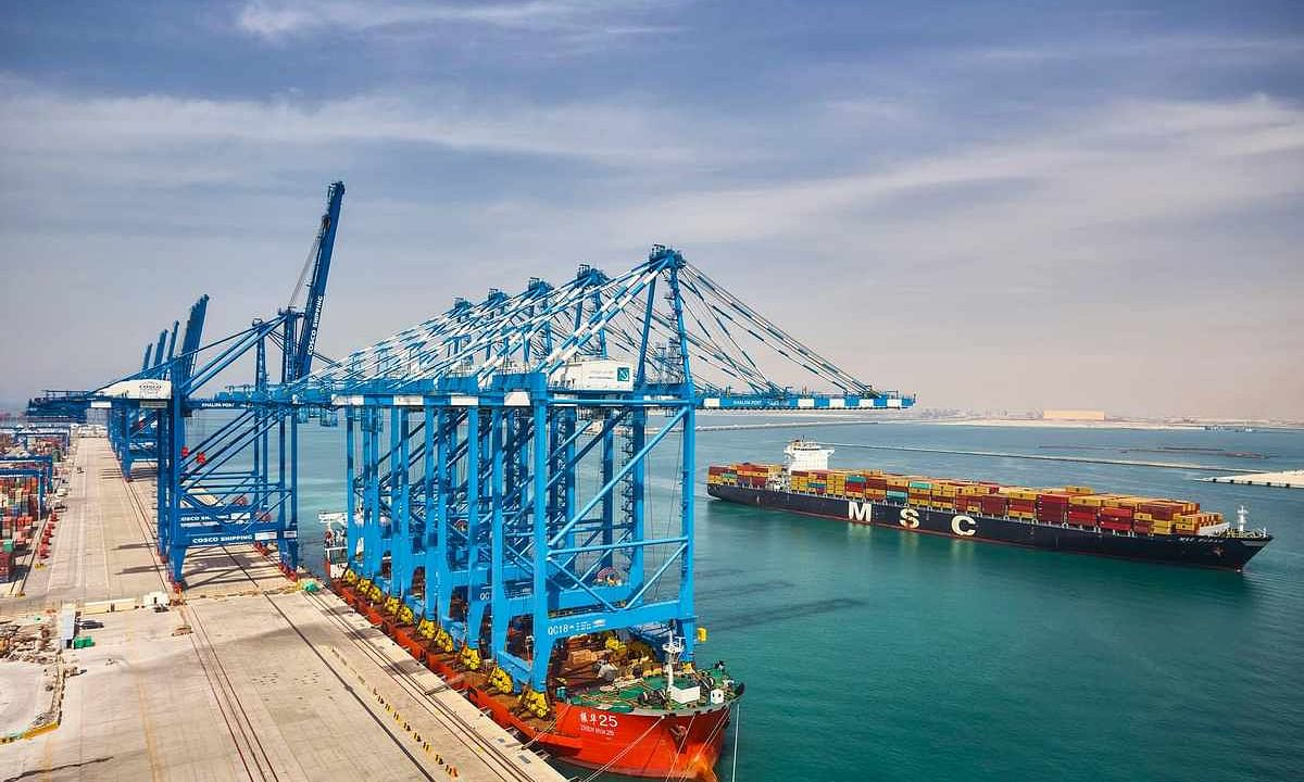 Abu Dhabi Ports' Khalifa Port Expansion Remains on Track