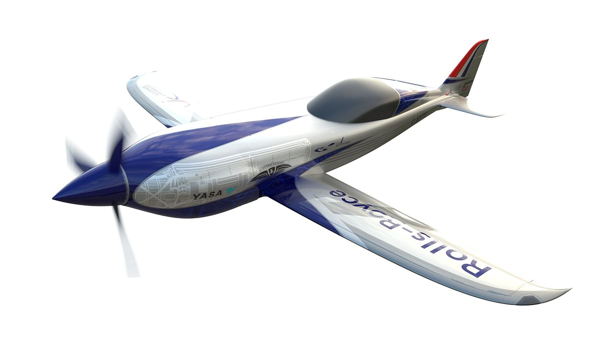 Rolls-Royce Technology Set to Power World's Fastest All-Electric Plane