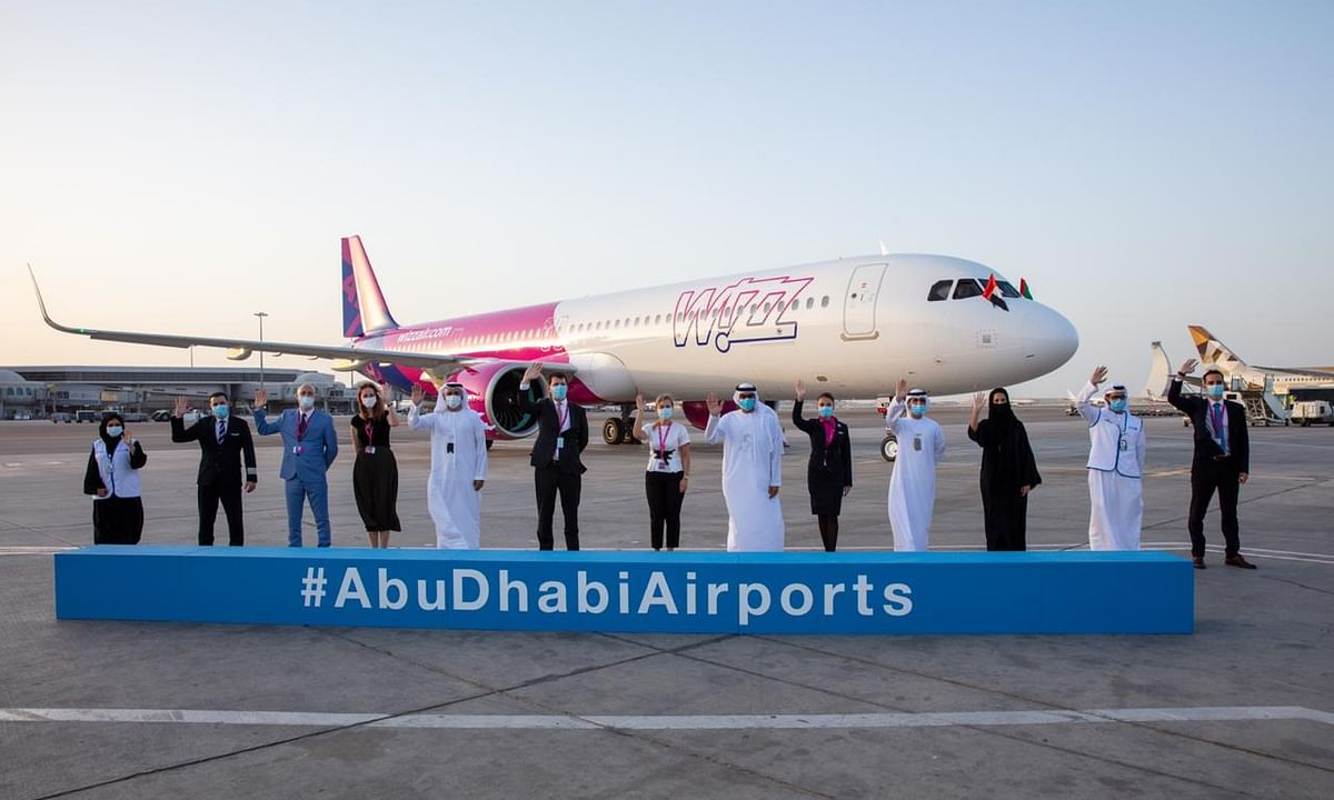 Wizz Air Abu Dhabi Celebrates the Arrival of its First New Aircraft
