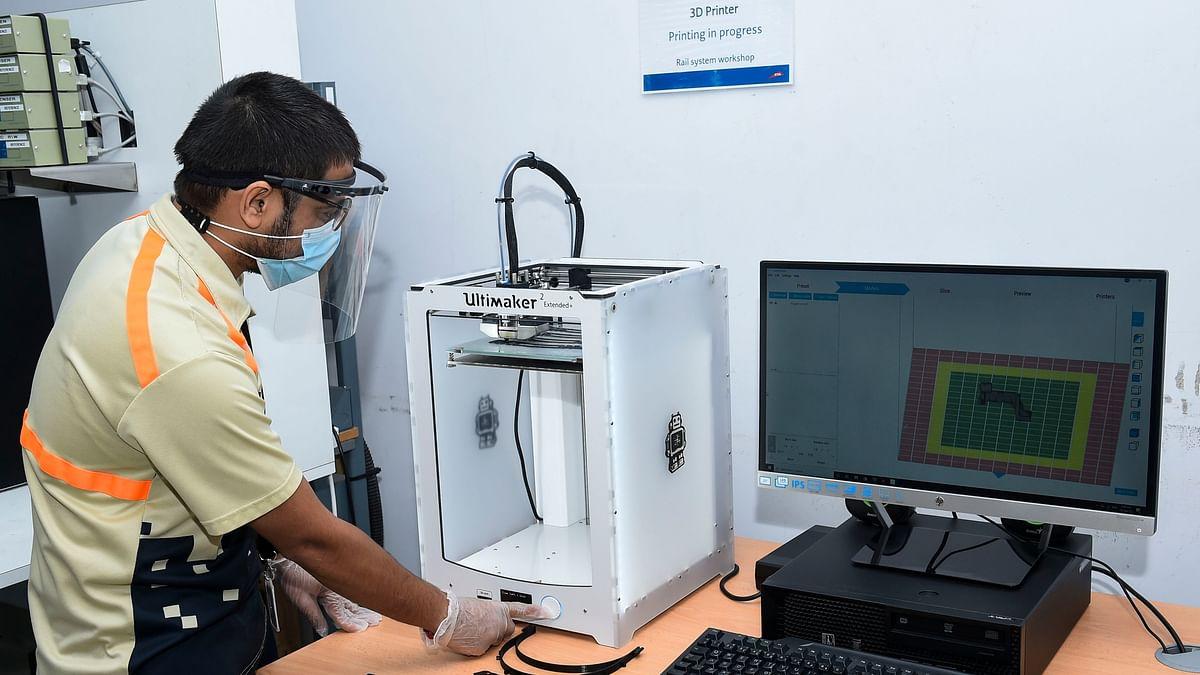 Dubai RTA and Serco Middle East 3D Print Spares for Dubai Metro