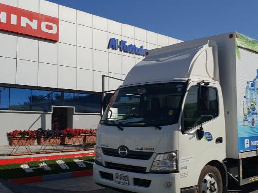 Al-Futtaim HINO Delivers 200 Trucks to National Food Product Company