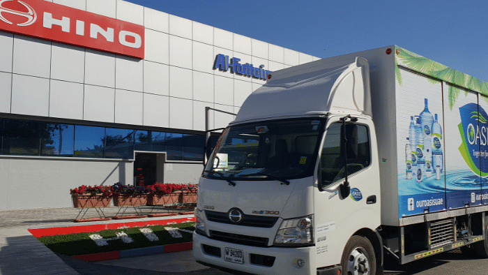 Al-Futtaim HINO Delivers 200 Trucks to National Food Product Company
