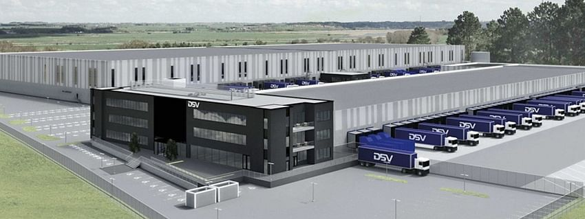 DSV's New Oslo Facility Features Robotic Storage and Retrieval