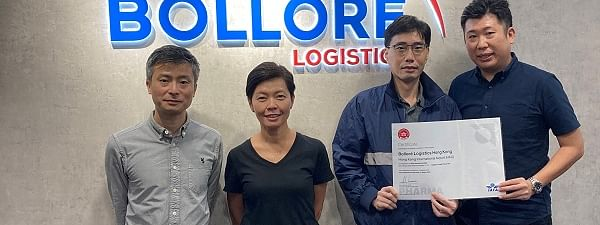 Bolloré Logistics Hong Kong Certified CEIV Pharma by IATA