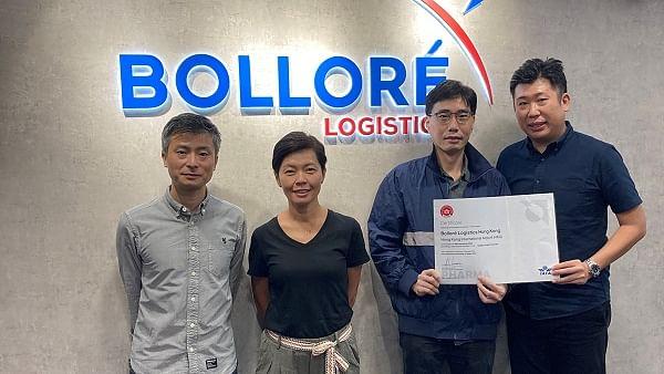 Bolloré Logistics Hong Kong Certified CEIV Pharma by IATA