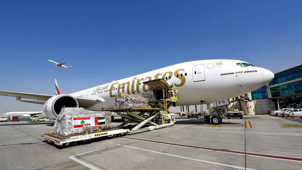 Emirates Continues Beirut Relief Efforts