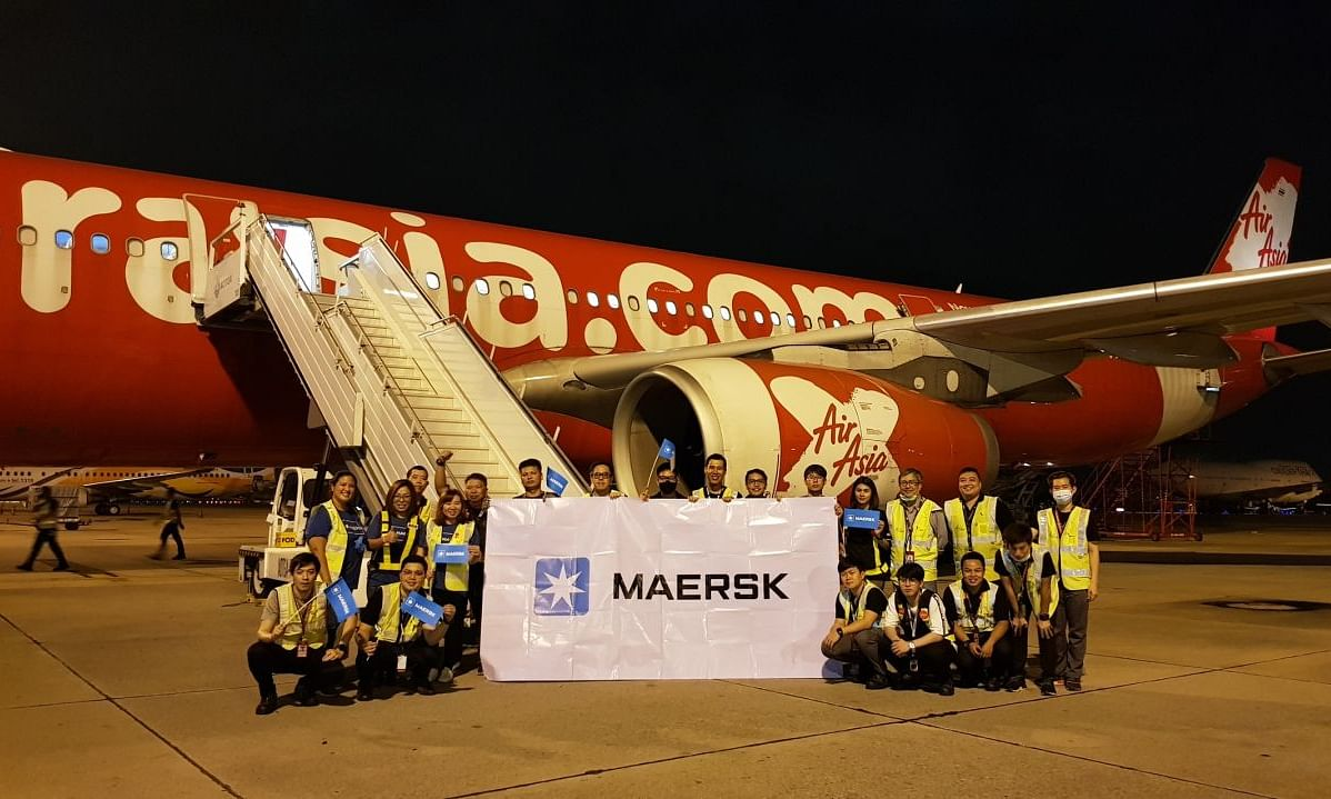 Maersk Successfully Expands Product Portfolio to Airfreight Services