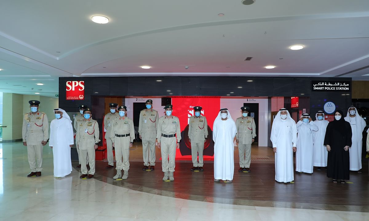 Ahmed bin Saeed Inaugurates Smart Police Station in DAFZA