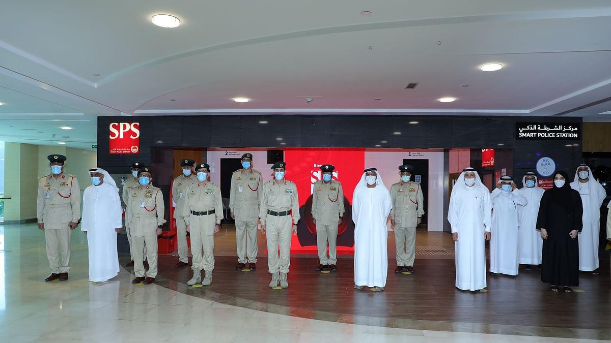 Ahmed bin Saeed Inaugurates Smart Police Station in DAFZA
