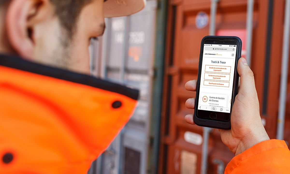 APM Terminals Further Optimises Container Tracking Platform
