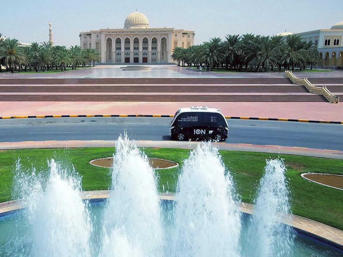 ION Successfully Trials Electric Autonomous Shuttles in Sharjah