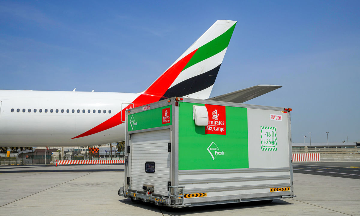 Emirates SkyCargo Keeps Global Supply Chains for Perishables Moving