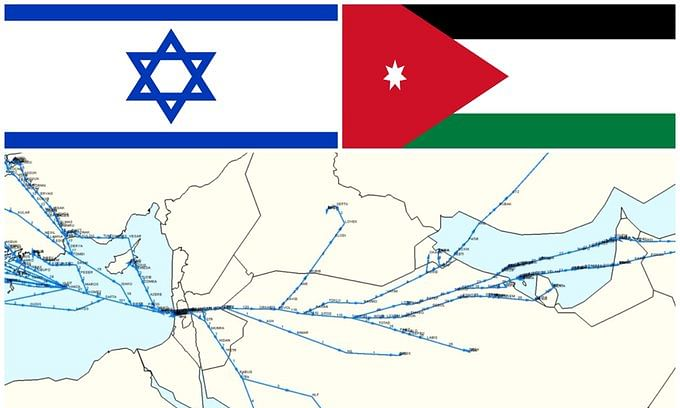 Major Savings Expected from Jordan-Israel Airspace Agreement