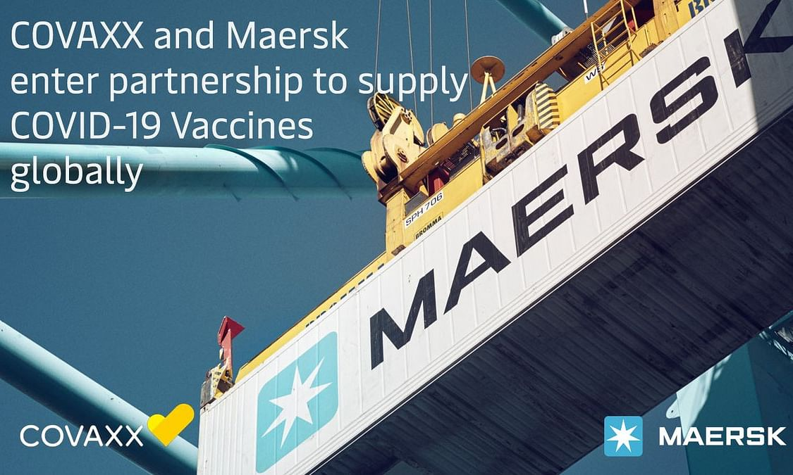 Maersk and COVAXX Partner to Supply COVID-19 Vaccines Globally