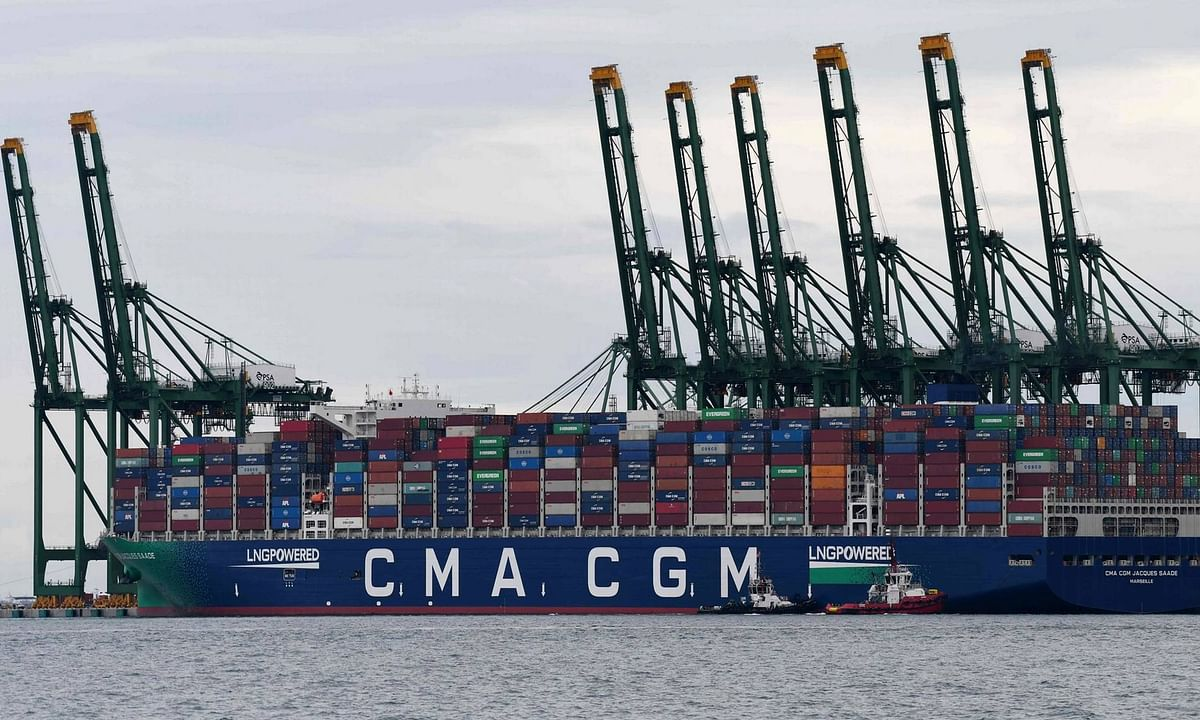 CMA CGM Jacques Saade Sets New World Record For Full Containers Loaded