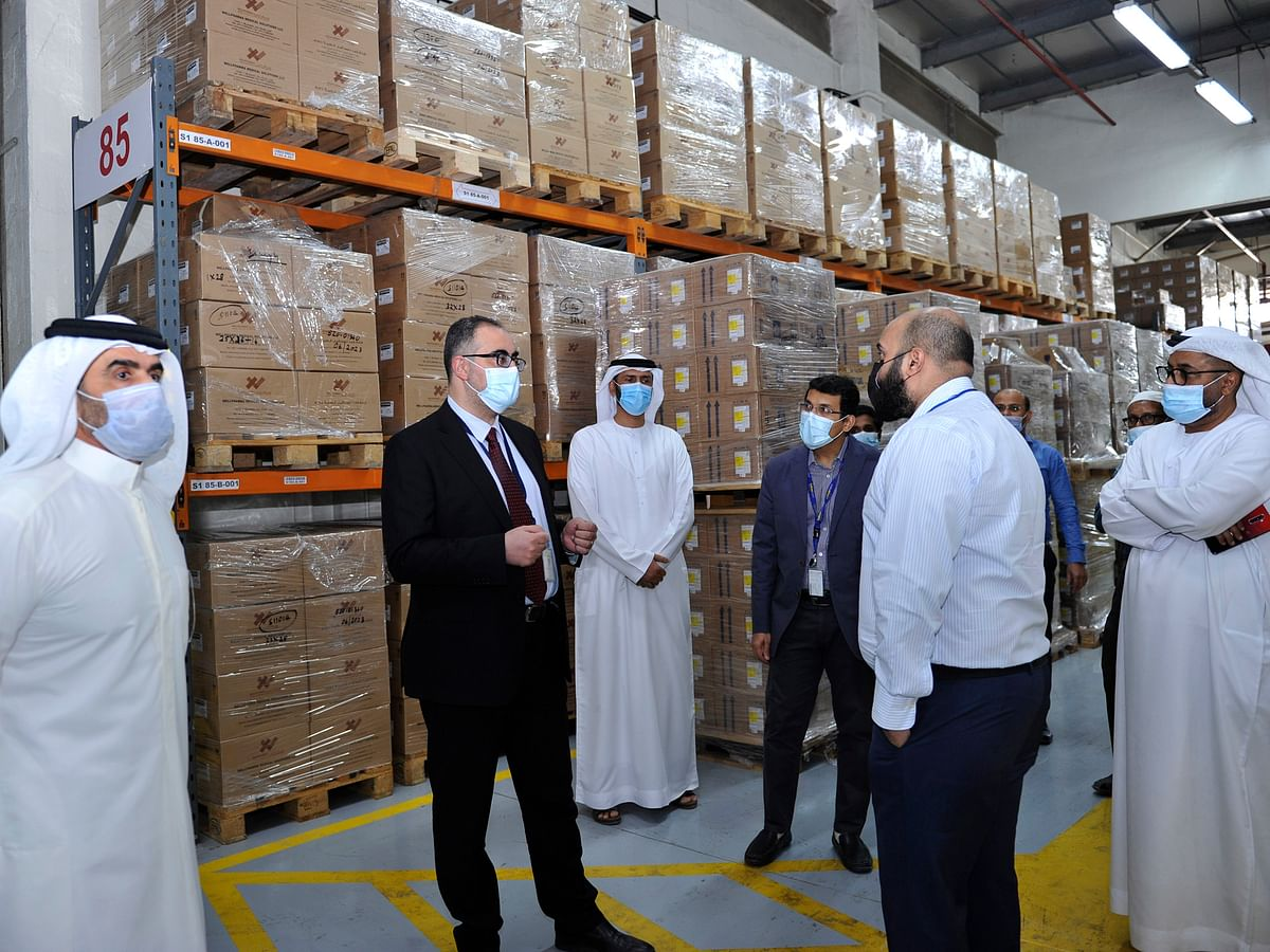DHA Shares Smart Inventory Management Experience with Dubai Airports