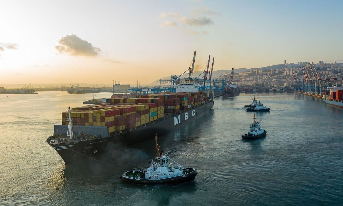 In Historic First Cargo from Dubai Arrives at Haifa
