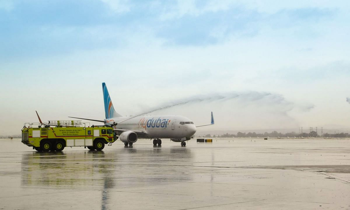 flydubai Lands in Tel Aviv