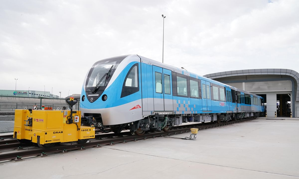 Al Tayer Announces Arrival of All New 50 Dubai Metro Trains