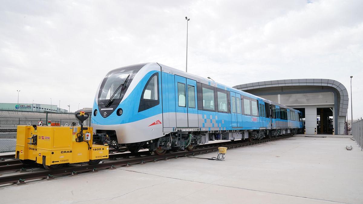 Al Tayer Announces Arrival of All New 50 Dubai Metro Trains