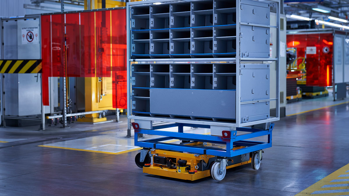 BMW's IDEALworks to Develop Robotic Solutions for Smarter Logistics