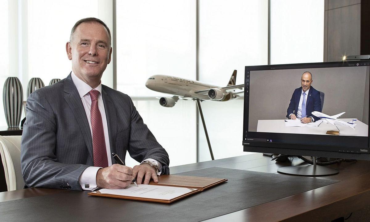 EL Al Israel Airlines and Etihad Airways to Explore Partnerships