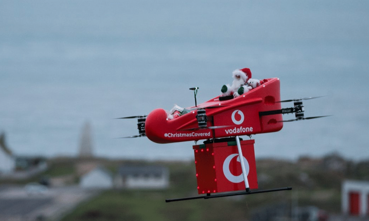 Vodafone and Ericsson Successfully Complete Drone Delivery Testing