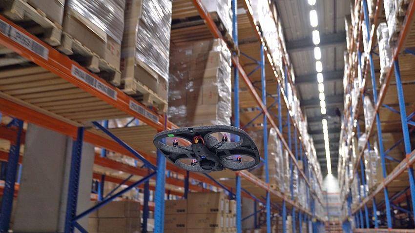 Watch: Autonomous Drones Help DSV Improve Warehouse Operations