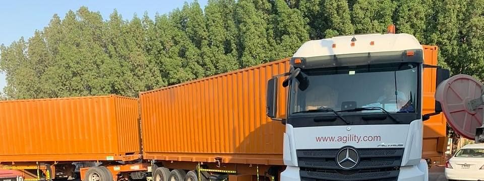 Agility Abu Dhabi Invests in Double-Trailer Trucks