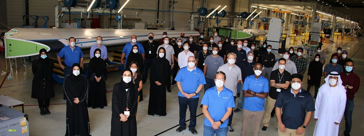 Strata Delivers First Made in UAE Boeing 787 Dreamliner Vertical Fin