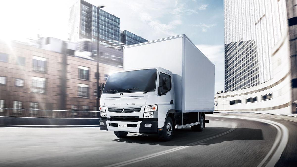 Al Habtoor Motors and Daimler CV MENA Launch New FUSO Canter Euro 5