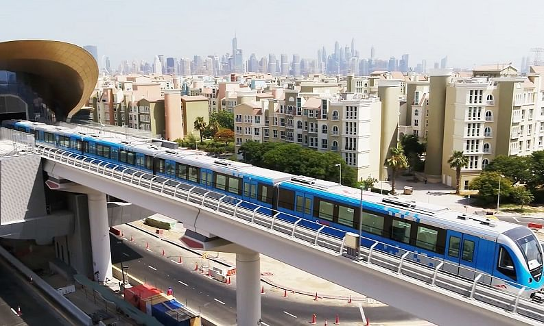 Al Tayer: Dubai Metro Route 2020 to Start Operation on 1/1/2021