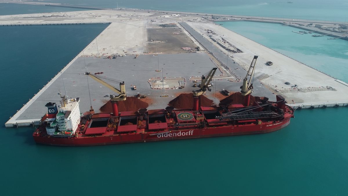 Khalifa Port's South Quay Goes Operational