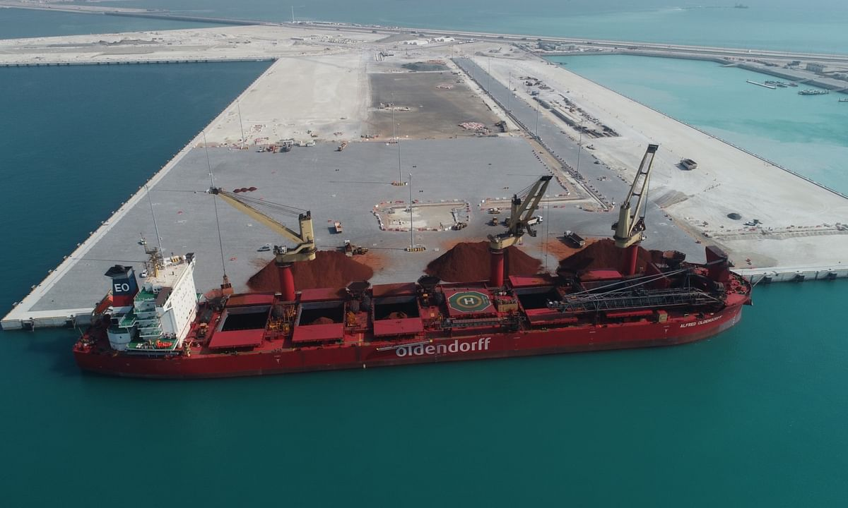 Khalifa Port's South Quay Goes Operational