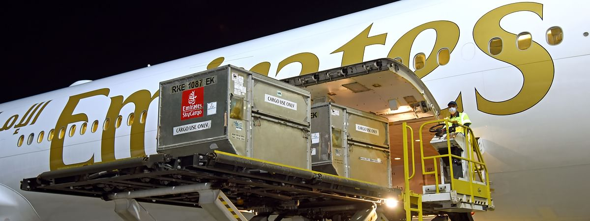 Emirates SkyCargo Flies In First of Pfizer-BioNTech COVID-19 Vaccines