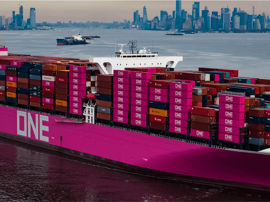 ONE Plans for 6 New Ultra Large Container Ships