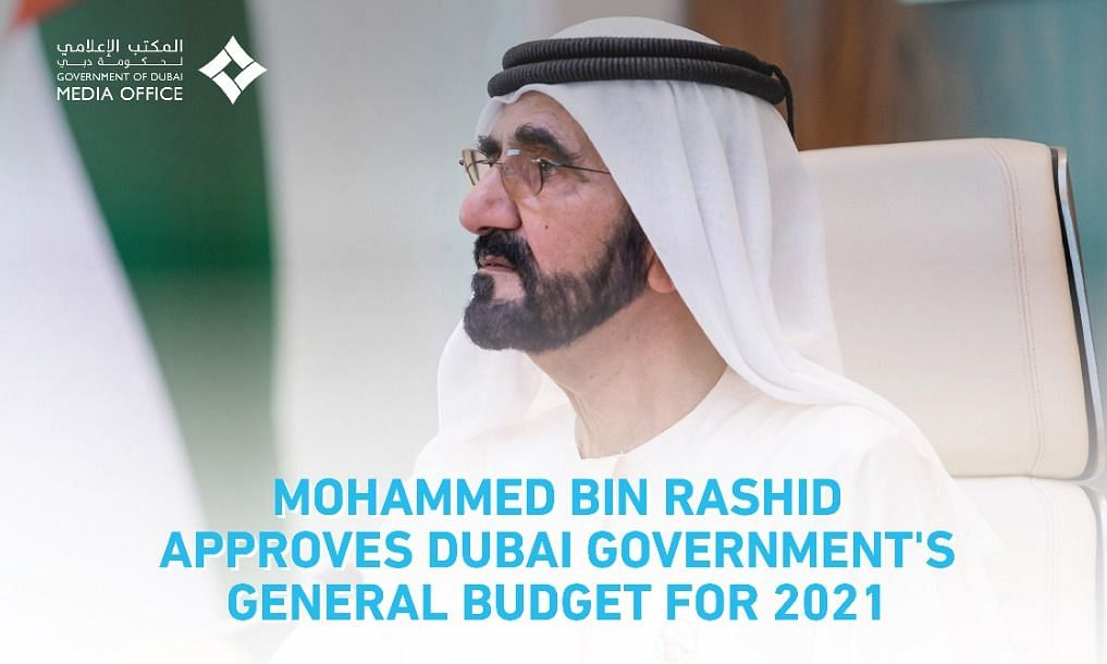 Mohammed bin Rashid Approves Dubai Government's 2021 General Budget