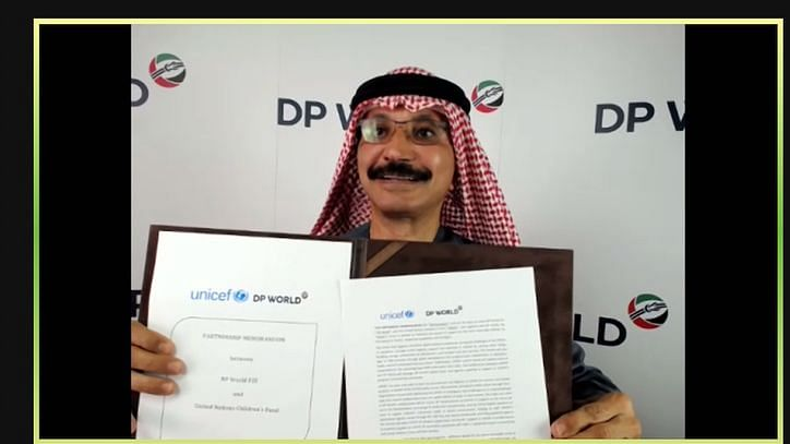 DP World Partners with UNICEF to Support Global COVID-19 Vaccination