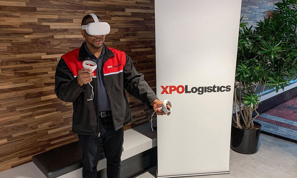 XPO Logistics Uses Virtual Reality to Train Employees