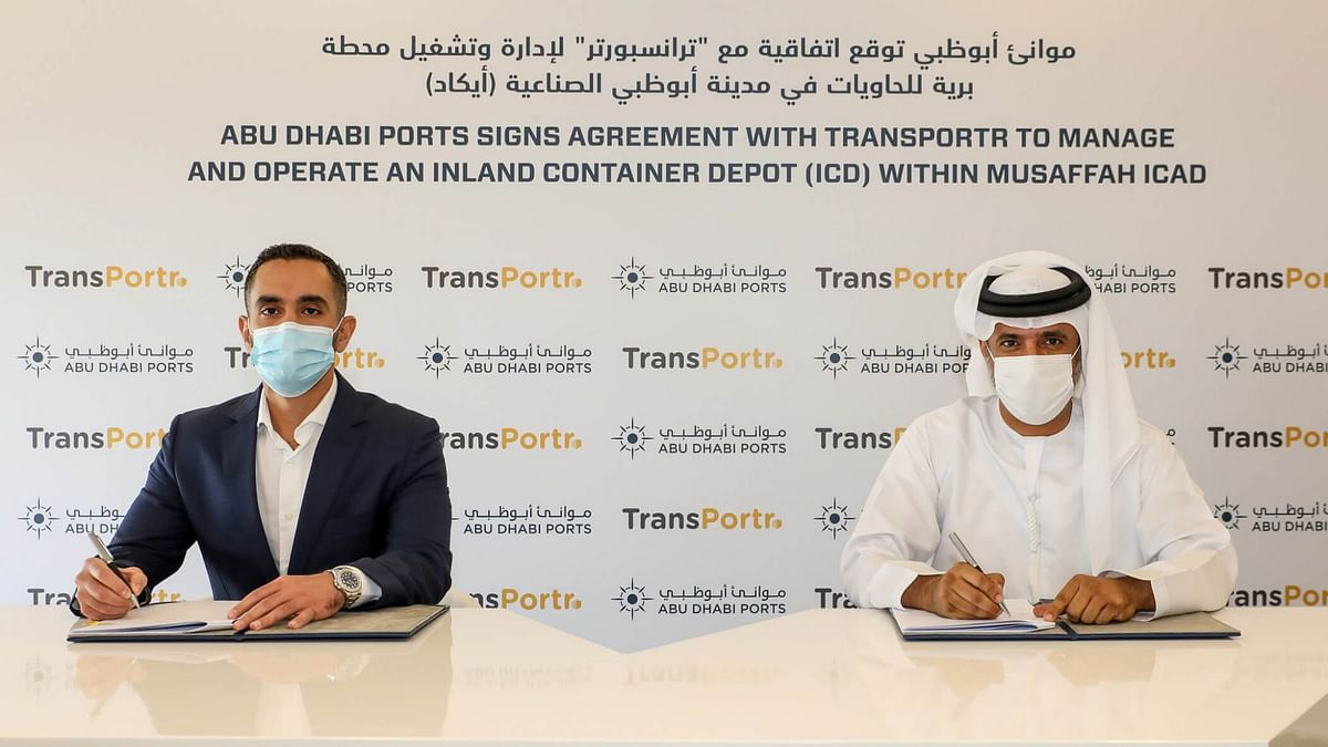 Abu Dhabi Ports to Manage Transportr's Musaffah Inland Container Depot