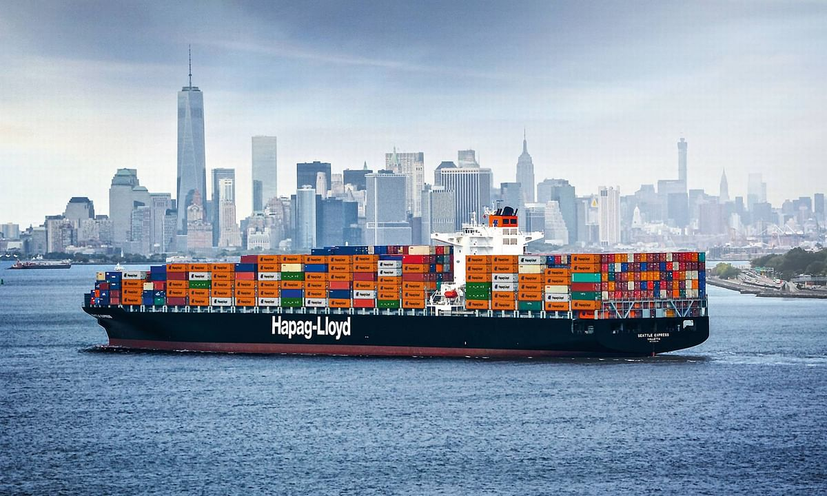 Hapag-Lloyd Orders 6 Ultra Large Container Vessels of 23,500+ TEU